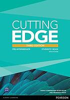 Cutting edge. [3] Pre-intermediate ... Students ́Book