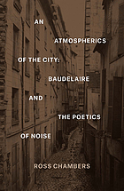 An atmospherics of the City : Baudelaire and the poetics of noise