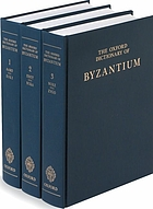 The Oxford dictionary of Byzantium. volume 2