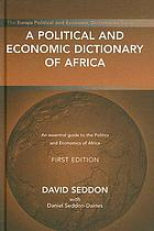A political and economic dictionary of Africa