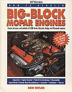 How to rebuild big-block mopar engines.