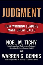 Judgement : how winnig leaders make great calls