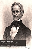Horace Mann and the public schools in the United States,