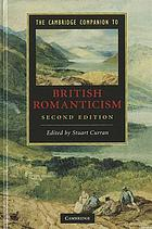 The Cambridge companion to British romanticism