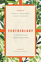 Book cover for Ecotheology : a Christian conversation.