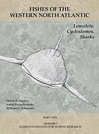 Fishes of the Western North Atlantic. Part 1, Lancelets