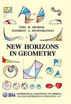 New horizons in geometry