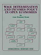 Wage determination and incomes policy in open economies