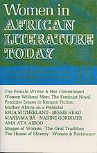 Women in African literature today : a review