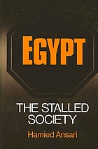 Egypt, the stalled society
