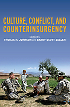 Culture. Johnson and Barry Scott Zellen, Conflict, and counterinsurgency