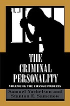 The criminal personality / Vol. 2, The change process.
