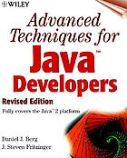 Advanced techniques for Java developers