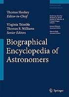 The biografical encyclopedia of astronomers. Vol. 2, M-Z
