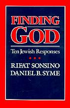 Finding God : ten Jewish responses