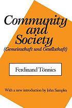 Community and society