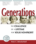 Generations : the challenge of a lifetime for your nonprofit