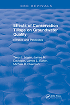 Effects of conservation tillage on ground water quality : nitrates and pesticides