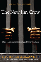 The New Jim Crow, book cover