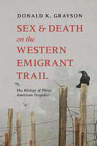 Sex and death on the western emigrant trail : the biology of three American tragedies