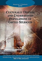 Essential readings in gifted education