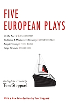 Five European plays