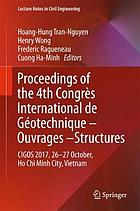 Proceedings of the 4th Congrès International de Géotechnique--Ouvrages--Structures