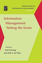 Information management : setting the scene