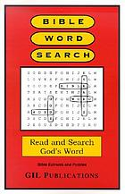 Bible word search : Bible extracts and world search puzzles