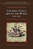 The first voyage around the world, 1519-1522 : an account of Magellan's expedition