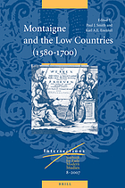 Montaigne and the low countries (1580-1700)
