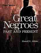 Great Negroes, past and present