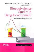 Bioequivalence studies in drug development : methods and applications