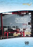 REVIEW OF MARITIME TRANSPORT 2016.