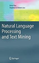 Natural language processing and text mining