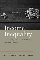 Income inequality : economic disparities and the middle class in affluent countries