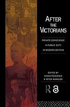 After the Victorians.