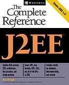 J2EE : the complete reference