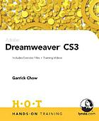 Adobe Dreamweaver CS3 : includes exercise files and demo movies