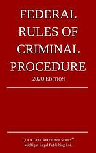 FEDERAL RULES OF CRIMINAL PROCEDURE.