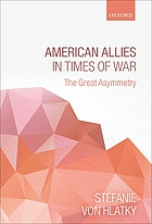 American allies in times of war the great asymmetry