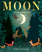 Moon a peek-through picture book