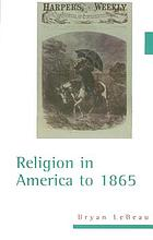 Religion in America to 1865
