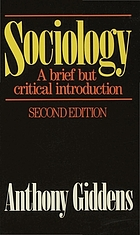 Sociology : a brief but critical introduction