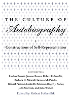 The Culture of autobiography : constructions of self-representation