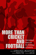 More than cricket and football : international sport and the challenge of celebrity