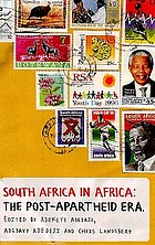 South Africa in Africa : the post-apartheid era
