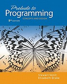Prelude to programming : concepts and design