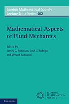 Mathematical aspects of fluid mechanics
