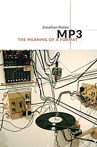MP3 : the meaning of a format